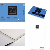 Watercolor Paper Pad 11-Inch By 15-Inch X-Large Fold Over Bound 30-Sheets - $13.55
