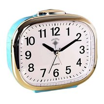 George Jimmy Cute Student Alarm Clock Stylish Silent Bedside Alarm Clock #37 - $36.18