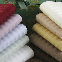 Extra Deep Pocket 4 pc Sheet Set 1200 TC Egyptian Cotton King-Size Strip... - $62.63+