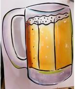 Clay Art  Beer Mug.  Chip Tray, Dip Bowl, Salsa Bowl Or For Nuts - $6.77