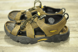 KEEN Sarasota Sandals Leather Waterproof Cork Footbed Walking Sport Wome... - $39.99