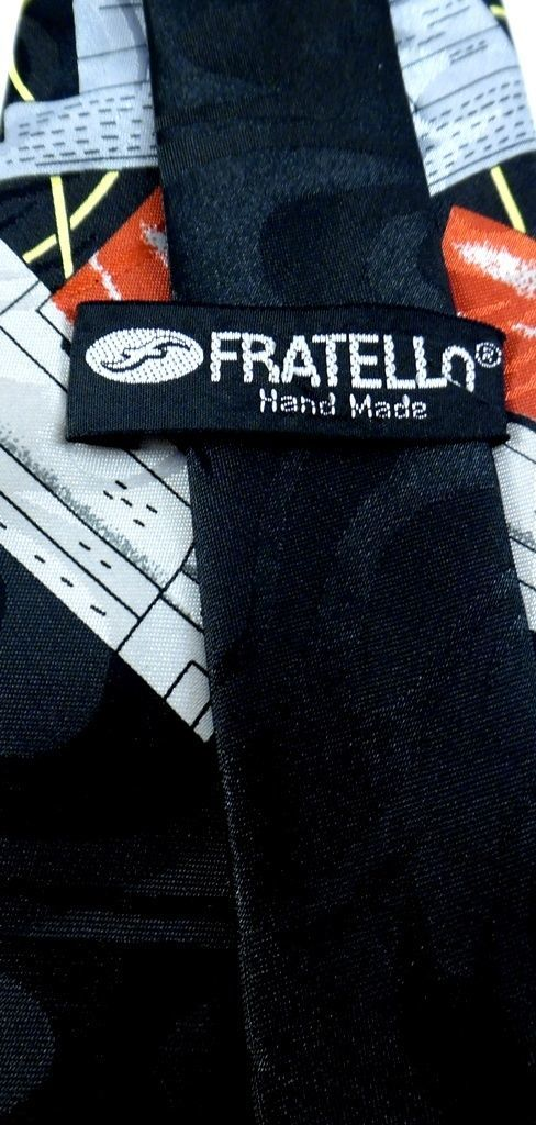 Fratello Necktie Tie Vintage Computer Byte Mouse Black CPU Tower image 4