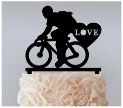Decorations Cake topper,Cupcake topper,bicycle man style Package : 11 pcs - $20.00