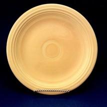 "Vintage Fiesta Yellow 7"" Salad Dessert Plate Homer Laughlin Original Marked - $14.84"