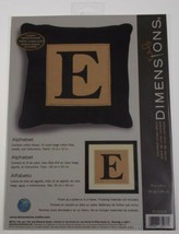 Dimensions Counted Cross Stitch Alphabet Letter Pillow Frame Kit 8x8 Lot 10 - $14.99