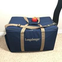 Longaberger Consultant Bag Large Carrying Case w/ Shoulder Strap 24 x 14... - $28.45