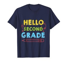 Teacher Style - Hello First Grade T-Shirt Funny 2nd Grade Back To School... - $19.95+