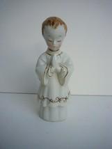 Vintage Shafford Figurine Altar Boy Communion Praying Made in Japan - $18.15