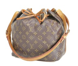 Authentic LOUIS VUITTON Petit Noe Monogram Shoulder Tote Bag Purse #33193 - $319.00