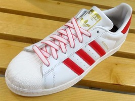 Adidas Originals Superstar CNY Pack White/Scarlet G27571  - $138.00