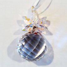 Clear Crystal Pineapple Ornament image 2