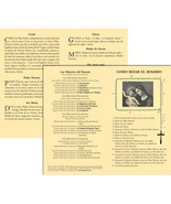 Cómo rezar el Rosario: Spanish Leaflet (Pack of 100) by Anonymous - $11.95