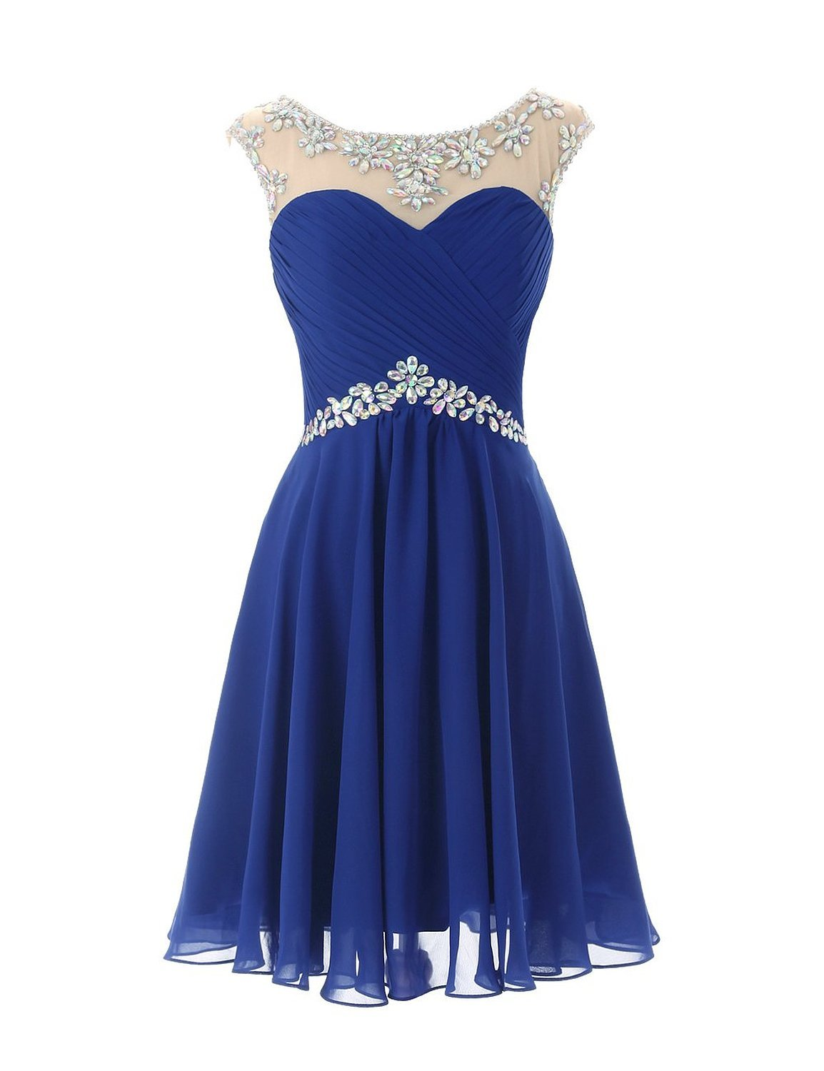 Primary image for Beaded Chiffon Prom Party Dresses 2017 Short Cheap Homecoming Dresses For Junior