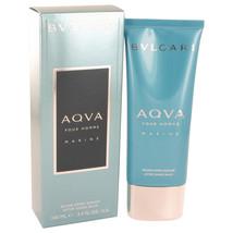 Bvlgari Aqua Marine After Shave Balm 3.4 Oz For Men  - $31.99