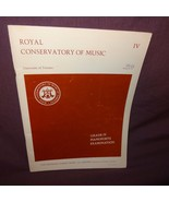 Royal Conservatory of Music Piano Sheet Music Grade 4 1966 Frederick Harris - $16.56