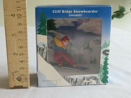 Department Dept. 56 Christmas Ornament K2 Cliff Ridge Snowboarder - $14.99