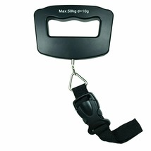 50kg /110 lb x 10g Digital Travel luggage Scale Hanging Scale with Strap... - $16.50
