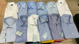 Camicie Truzzi Cucite veramente a mano con collo italiano senza bottoni.... - $120.81