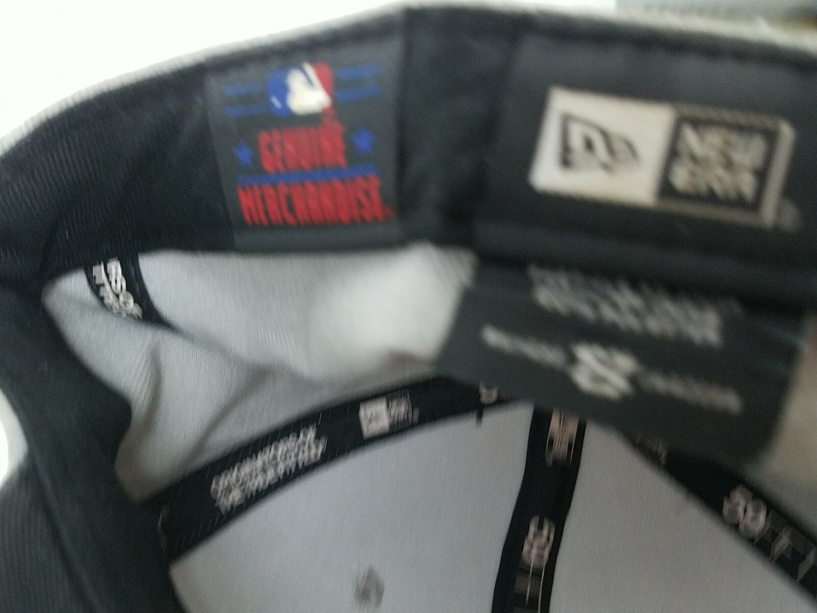 New Era 59FIFTY San Francisco SF Giants Fitted Genuine Merchandise Cap Hat