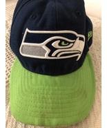 NFL Seahawks Football Cap Navy One size - $23.00