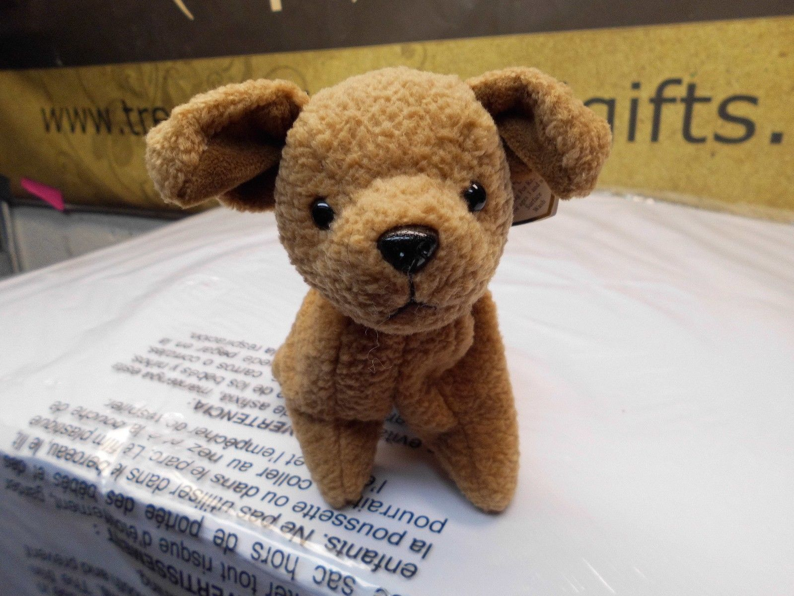 808b95591fa Ty Beanie Babies Tuffy the Brown Dog