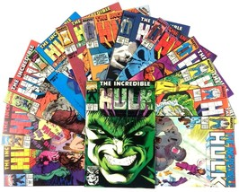 Incredible Hulk Comic Book Lot 15 Issues Marvel VF Punisher Wolverine Thing - $27.67