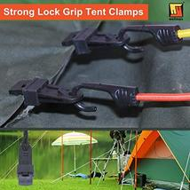 Wellmax Heavy Duty Tarp Clips 12 Pieces, Multi-Purpose Awning Clamps Set with St image 4
