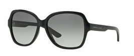 Armani Exchange Woman Sunglasses AX4029 800411 Black Butterfly 57mm Auth... - $72.75