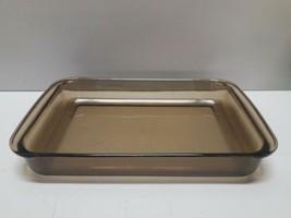 Vintage PYREX Amber Glass 233-N Lasagna Casserole Baking Dish Handles Vi... - $12.86