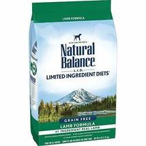Premium Natural Balance L.I.D. Limited Ingredient Diets Dry Dog Food, Grain... - $24.30