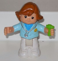 Fisher Price Little People Bendable Poseable Girl Doctor FPLP - $5.00