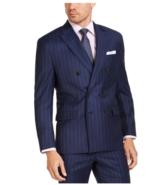 Lauren Ralph Lauren UltraFlex Navy Pinstripe Suit Jacket Separate Men's ... - $346.50
