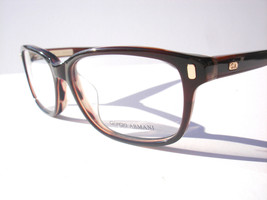 New Giorgio Armani eyeglasses GA 974 Brown BN7 Authentic 52-17-135 - $70.08
