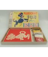 Milton Bradley 4915 Plaxicraft Fun Make 'Em and Bake 'Em 1959 Cow Monkey... - $99.99