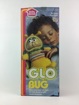 Globug Glow Bug Worm Plush Stuffed Toy Light Up 1984 Vintage Playskool New - $188.05