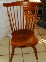 Maple Windsor Back Desk Chair / Sidechair by Nichols & Stone  (RP-SC267) - $269.10