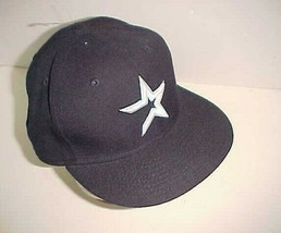 Houston Astros MLB AL Adult Unisex Black White Star Logo Wool Cap 7 1/2 New - $29.69