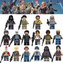 16pcs/set Fortnight Battle Royale Halo Warriors Soliders Minifigures Block - $21.50