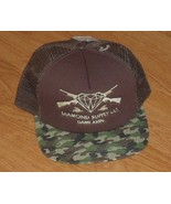 DIAMOND SUPPLY CO. GAME ASSN. BASEBALL CAP HAT ONE SIZE  BROWN CAMOUFLAG... - $16.99