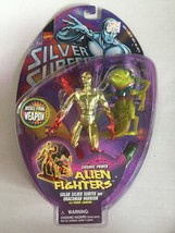 "NEW Solar Silver Surfer + Draconian Warrior Toy Biz 1998 5"" action figure - $9.90"