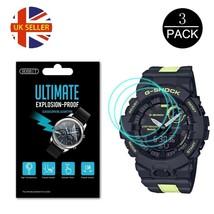 3x Watch Screen Protector anti scratch film for Casio G Shock GBD-800LU ... - $16.10