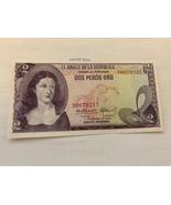 Colombia 2 pesos uncirc. banknote 1972 - $5.95