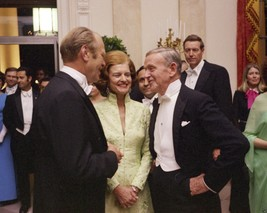 President Gerald Ford Betty with Fred Astaire at White House New 8x10 Photo - $8.81