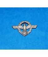 ORIGINAL WW2 GERMAN WEHRMACHT CIVILIAN EMPLOYEE SMALL TINNIE BADGE - $40.00
