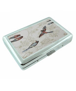 Song Bird Classic Em1 Silver Metal Cigarette Case RFID Protection Wallet - $11.83
