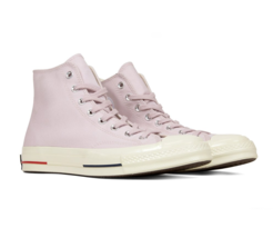 Converse Chuck 70 Heritage Court Hi Barely Rose Red Navy 160492C Mens Si... - $79.95