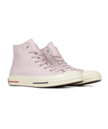 Converse Chuck 70 Heritage Court Hi Barely Rose Red Navy 160492C Mens Si... - $74.95