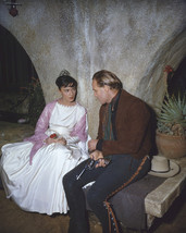 Marlon Brando And Pina Pellicer In One-Eyed Jacks Relaxing On Set 16X20 Canvas G - $69.99