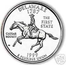 1999-D DELAWARE GEM UNC STATE QUARTER~FREE SHIPPING INC - $3.21