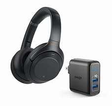Sony WH1000XM3 Wireless Bluetooth Noise Canceling Over Ear Headphone Bundle with - $246.03